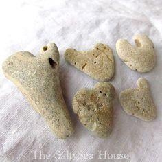natural heart stones