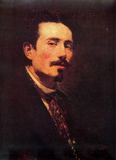 Ignacio Pinazo Camarlench - Autorretrato 04