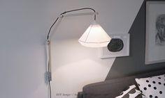 Væglampe i træ // DIY | SIRLIG HERLIGHEDER