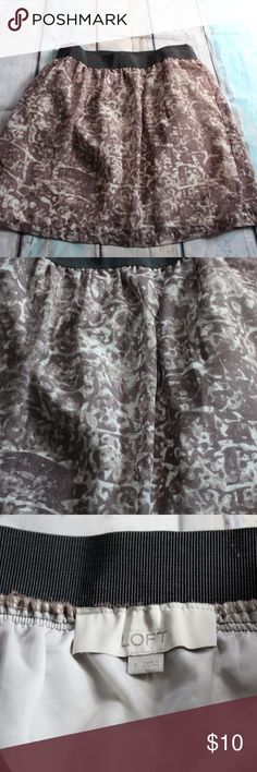Ann Taylor Loft size S skirt Size S skirt by Ann Taylor Loft. Excellent condition. Priced to go!  BUY THREE GET ONE FREE DEAL. (Choose 4 items, only pay for three) Free item is lowest price item in bundle.   This month, I am donating a portion of proceeds to the St Jude House in Crown Point Indiana. (a domestic violence resource.) Ann Taylor Loft Skirts