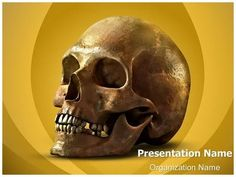 Anatomy Human Skull Powerpoint Template is one of the best PowerPoint templates by EditableTemplates.com. #EditableTemplates #PowerPoint #Human #Biology #Skull #Skeleton