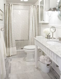 Sarah Richardson bathroom designed with materials found at Lowes
