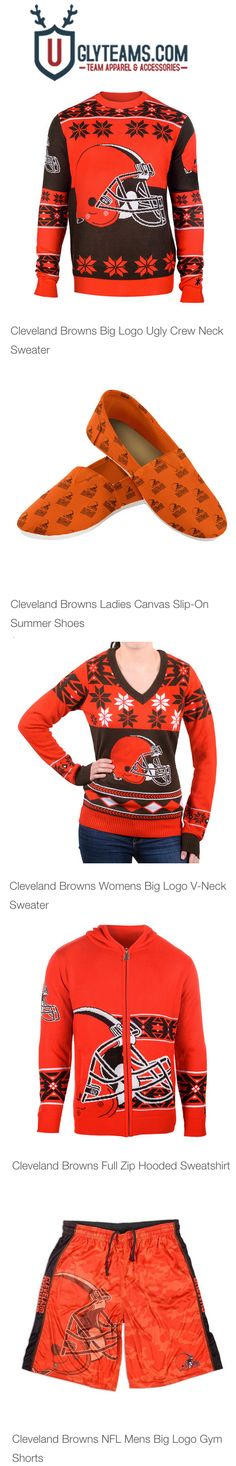 NFL Busy Block Ugly Sweater – Cleveland Browns | NFL-AFC North ...