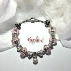Bracelet la perle de mon coeur pour la St Valentin : Bracelet par verycharm