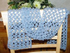 Lacy Summer Scarf: Free #crochet pattern