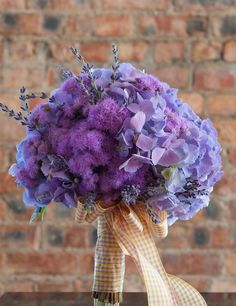 lavender wedding bouquet, fall wedding inspiration, romantic wedding ideas #2014 #home decor #ideas #Easter #spring wedding #Craft #food www.dreamyweddingideas.com