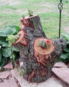 Die 94 Besten Bilder Von Baumstamm Bepflanzen Garden Art Trunks
