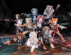 """broadway musical cats images   The Jellicle Cats on the prowl in the national tour of """"Cats"""". (photo ..  Looking forward to seeing """"Cats"""" this fall!!"""