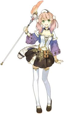 Atelier Escha & Logy: Alchemists of the Dusk Sky Art - Escha Malier