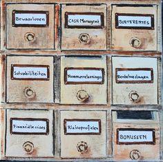 Het Ladenblokje van de Bankier - oil on canvas - cm - € 275 Bari, Oil On Canvas, Paintings, Frame, Home Decor, Picture Frame, Decoration Home, Paint, Room Decor