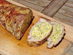 Croatian Recipes, Hungarian Recipes, Hungarian Food, Roasted Pork Tenderloins, Cold Dishes, Pork Roast, Meat Recipes, Holiday Recipes, Banana Bread