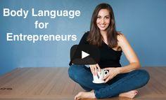 Body Language tips for Entrepreneurs