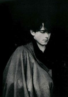 Robert Smith of The Cure, early 80s.
