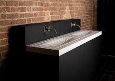Contour sink