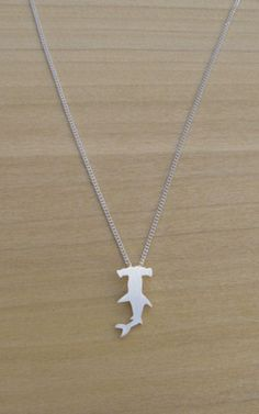 tiny hammerhead necklace $35