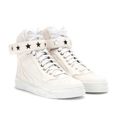 High Top Sneakers For Women   mytheresa.com - LEATHER HIGH-TOP SNEAKERS - Luxury Fashion for Women ...