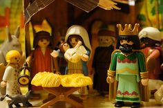 2001 Playmobil Christmas Nativity ★•☆•Teresa Restegui http://www.pinterest.com/teretegui/•☆•★