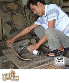 Rotan krukjes, Vietnam, Fair Trade Original