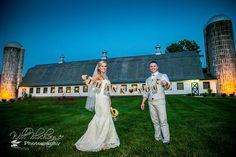 Lauren and Kevin at the Barn.  #barn #rustic #wedding #bride #groom #mrandmrs #barnwedding #rusticwedding #thankyou @peronafarms @blochinger