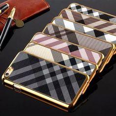 BURBERRY 高級 iphone6ケース 薄型 バーバリー iphone6カバー 5.5インチ ハード 男女兼用
