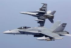 RAAF jets over the Persian Gulf