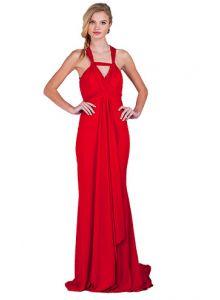 Badgley Mischka Jersey Twist Gown