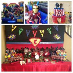 my superhero party