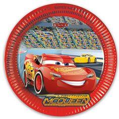 Disney Biler Pap Tallerken - Single Image