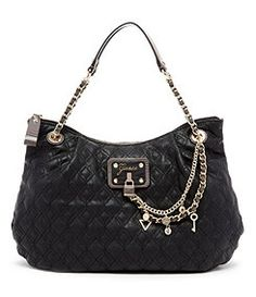 Guess Liane Quilted Satchel