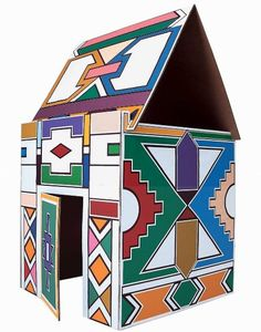Ndebele House by Vittorio Locatelli for Driade