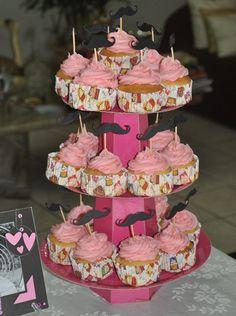 Cupcakes! birthday, mustach cupcak, moustach cupcak