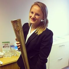Olympic torch tour being held in Holiday Inn. Photo by Instagram user followyourdreeamss