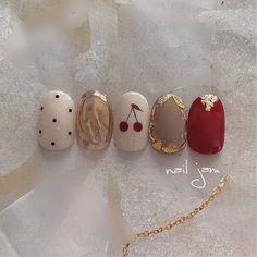 Acrylic Nails Nude, Nude Nails, Elegant Nails, Classy Nails, Fruit Nail Art, Minimalist Nails, Green Nails, Press On Nails, Nail Arts