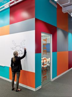 whiteboard paint office - Google Search