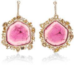 80 Grand Earrings - Kimberly McDonald 18K Rose Gold  A Girl's best friends