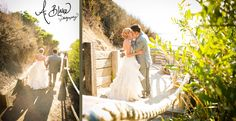 Beach Wedding.. Walk to the Beach The Cliffs Resort  photographer Ashley Blake