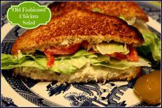 Sweet Tea and Cornbread: Mama's Old Fashioned Chicken Salad!