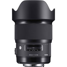 Sigma 20mm f/1.4 DG HSM Art Lens for Sigma SA ---> Definitely high on the list! (Make sure it's Canon Mount, not Nikon) /// For my Canon