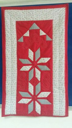 Miniature Quilts, Diy And Crafts, Applique, Patches, Miniatures, Lily, Blanket, Rugs, Fabric