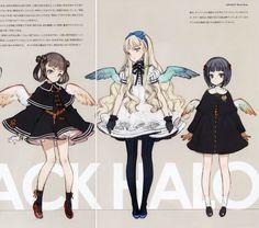 oyari ashito angel art