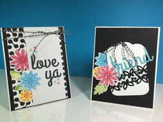 Cards I cased from the Catherine Pooler blog.