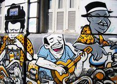 Mural. Lapa, Rio de Janeiro. 2008
