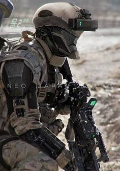 Image result for futuristic soldier