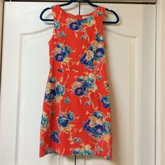 Summer floral! Super cute floral summer dress! Zipper back, 32.5 inches from shoulder, 2 inch shoulder straps. Cute small slit at the back. Scuff stain on back right corner, shown in third photo, and small pen mark on the bottom of the front, shown in the fourth photo. I have not tried to remove either yet. In wonderful condition other than those couple of spots! I ❤️ OFFERS! TOP-RATED FAST SHIPPER USE BUNDLE FOR SAVINGS Forever 21 Dresses