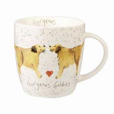 Gorgeous Goldies Mug Golden Retriever Gifts, China Mugs, Fine China, Microwave, Dishwasher, Dishwashers, Microwave Oven, Microwave Cabinet