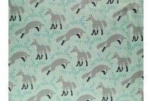 Socks the fox Aqua