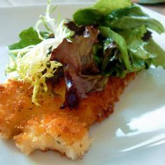 Parmesan (Panko) Chicken, influenced by Ina Garten