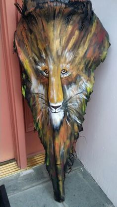 Lion palm frond
