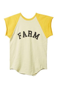 Farm Tee: With an authenticity and sincerity from its origin, Organic by John Patrick continues to be an authority in the sustainable fashion movement.