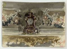 MARIÀ FORTUNY, Reus, 1838 – Rome, 1874 Title Study for the picture 'The Print Collector' Date Circa 1863-1867 Generic classification Drawing...